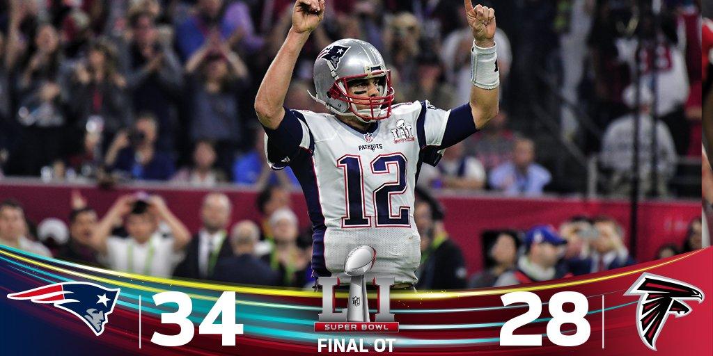 Super Bowl Falcons Vs Patriots Score 28 3