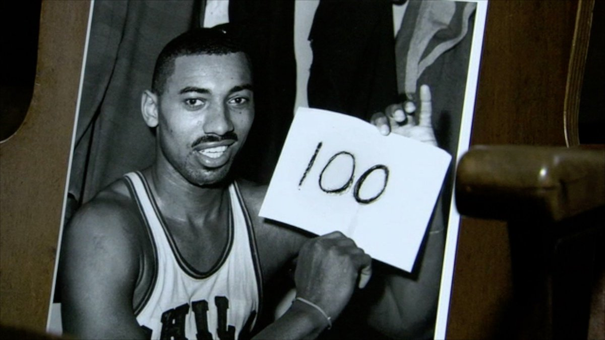 Look back on Wilt Chamberlain 100-point game against the ...