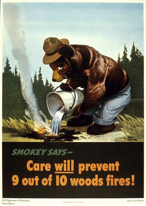 Smokey Bear Psa