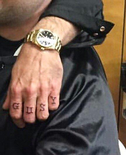Jeffrey Dean Morgan Tattoos