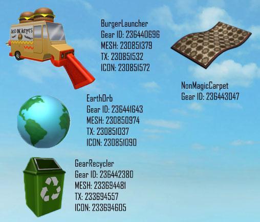 Codes Gear Magic Carpet Roblox
