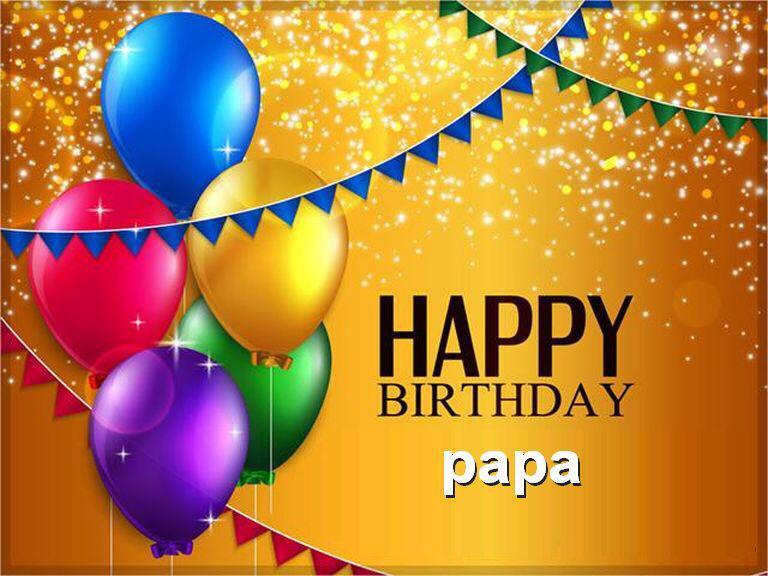 Happy Birthday Cake Papa Ji