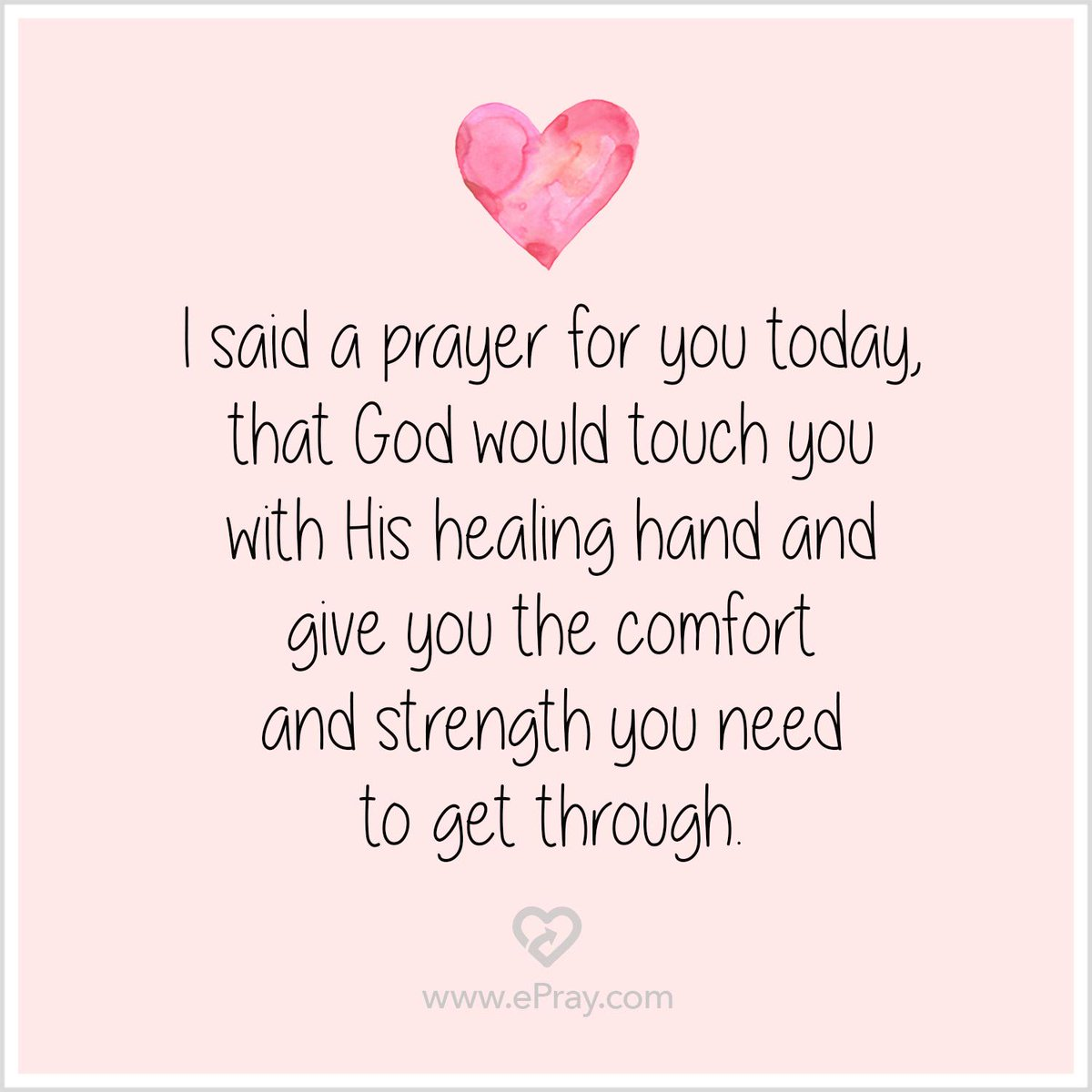 Praying For Strength For A Friend