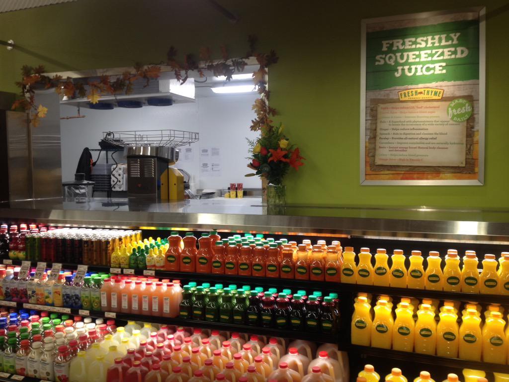 Fresh Bar Thyme Juice