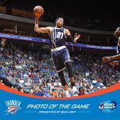 Thunder Pre Game At Bok Center (4)