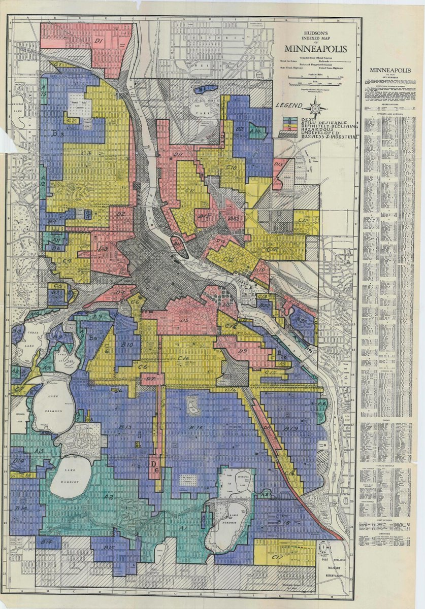 Scott Shaffer on Twitter   Here s a Minneapolis redlining map from     Scott Shaffer on Twitter   Here s a Minneapolis redlining map from around  1930  Good night  http   t co 2tuEOEIDYi