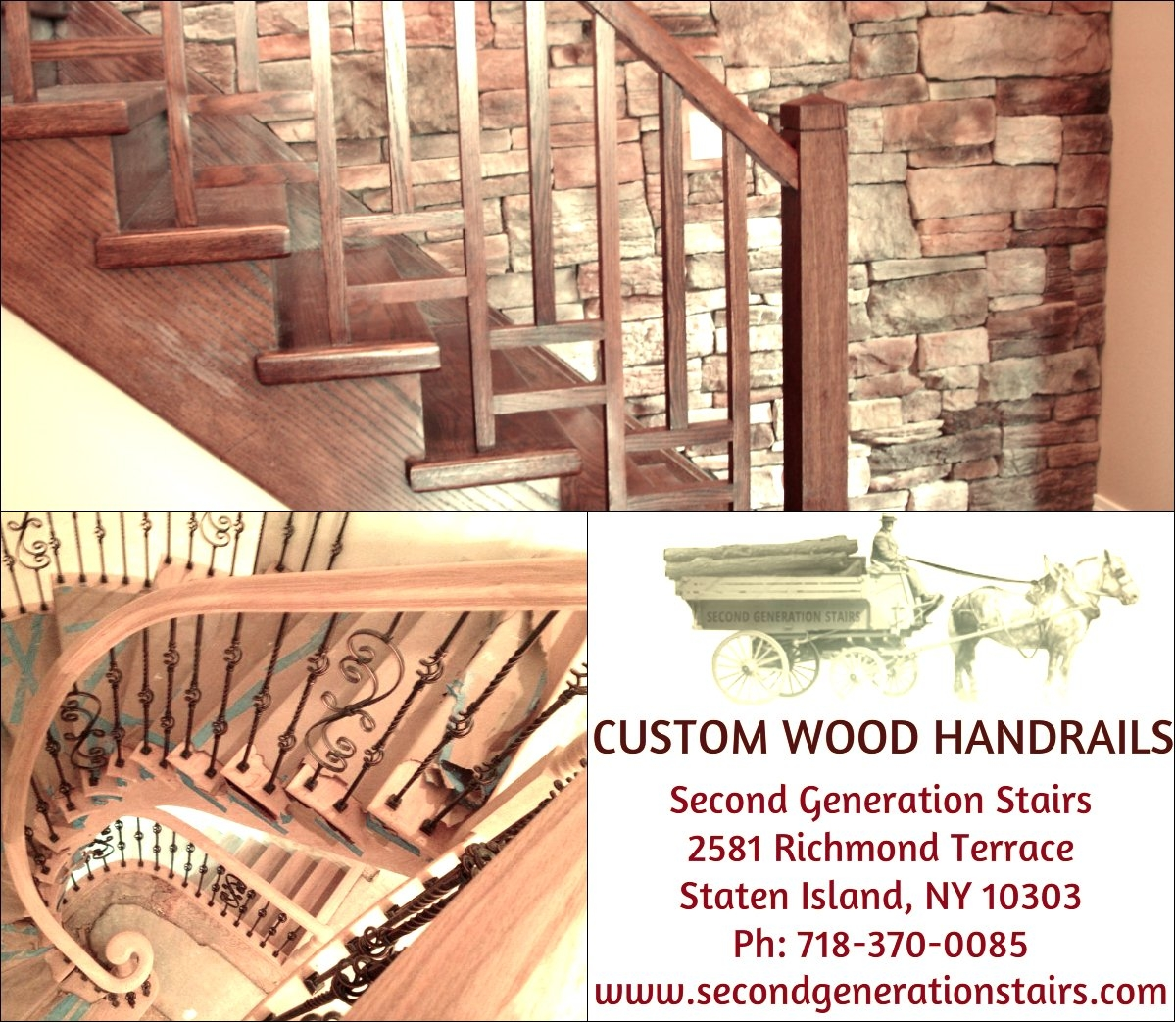 Woodenstaircases Hashtag On Twitter   Second Generation Wood Stairs   Presentation Transcript   Basement Stairs   Staten Island Ny   Stair Treads   Brooklyn Ny