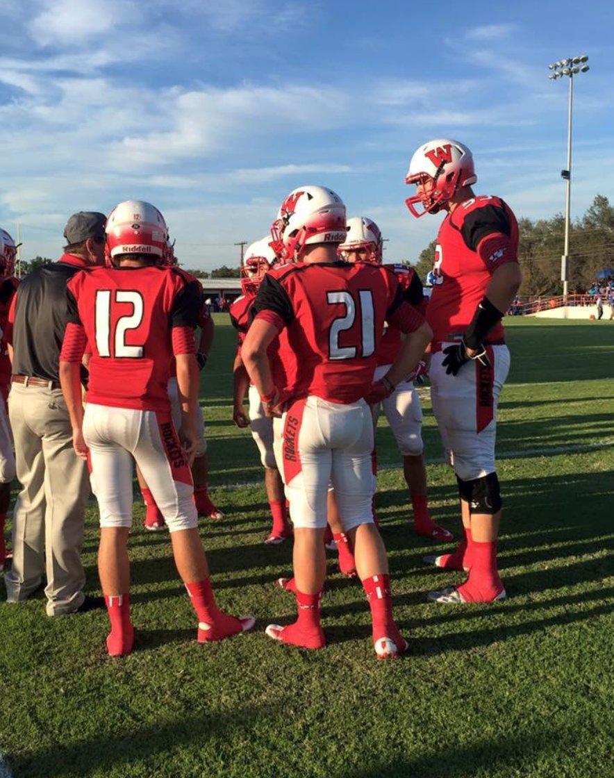 Roberson Wellington School High Trevor Football Texas