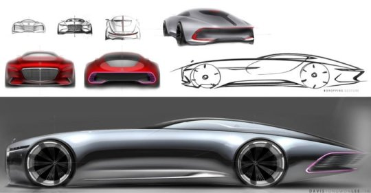 Car Body Design on Twitter   Daily Sketch  Vision Mercedes Maybach 6     12 17 PM   12 Sep 2016