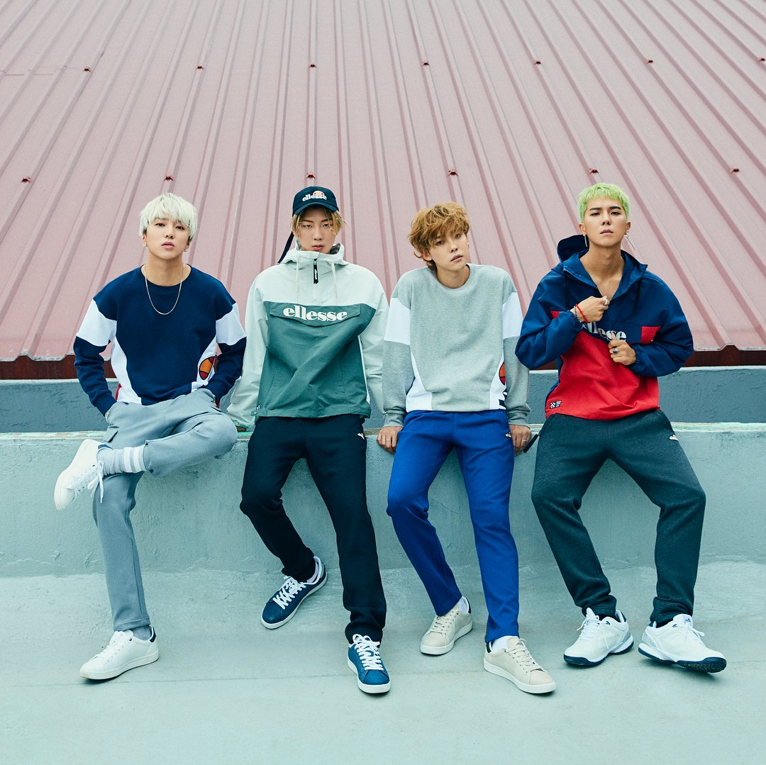 "YG WINNER 위너 on Twitter: ""[ENDORSEMENT] WINNER for Ellesse ..."