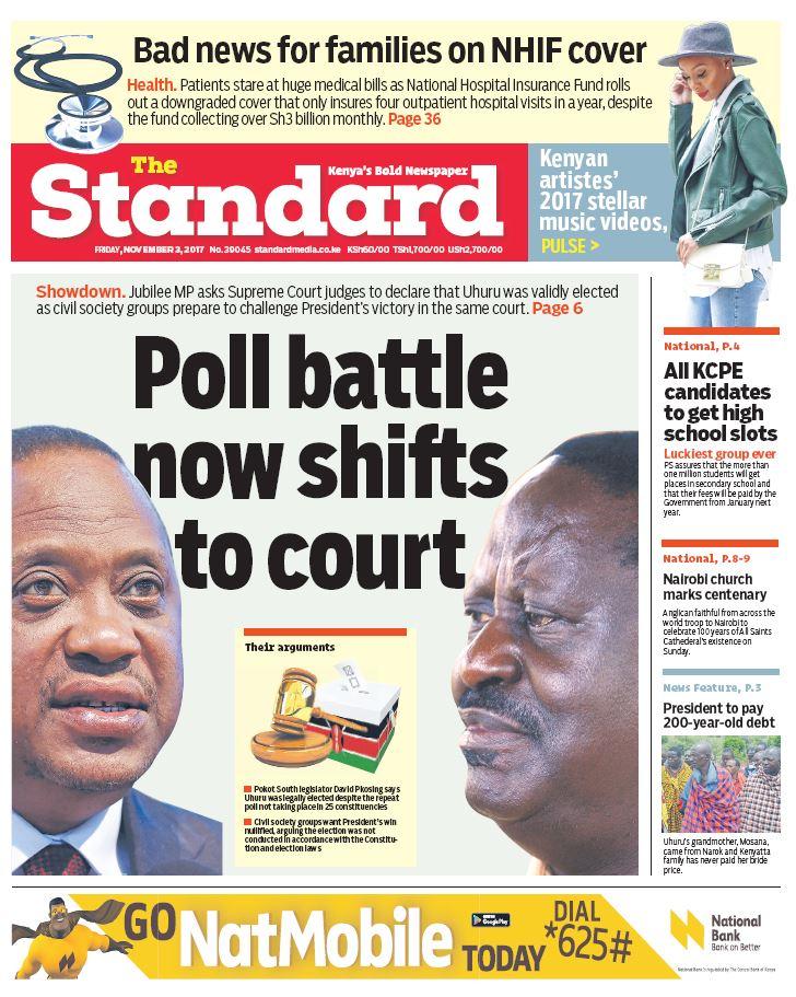 Nairobian Newspaper Kenya Today Copy