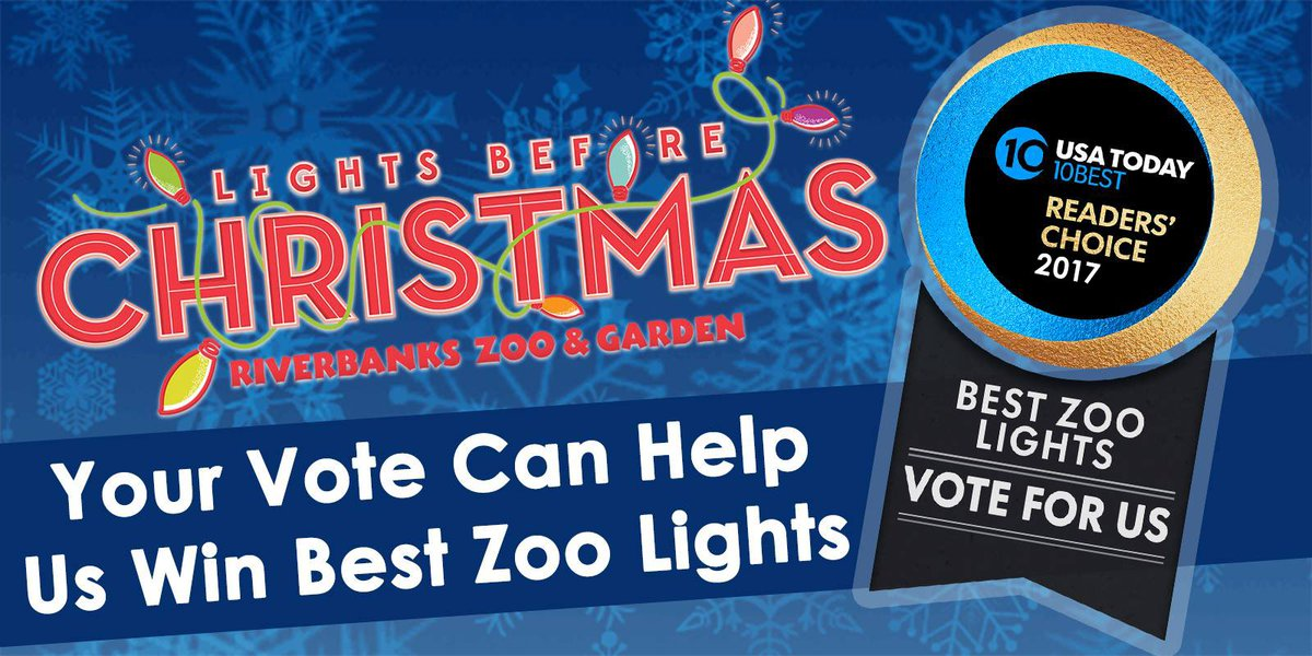 Riverbanks Zoo Lights Christmas 2017