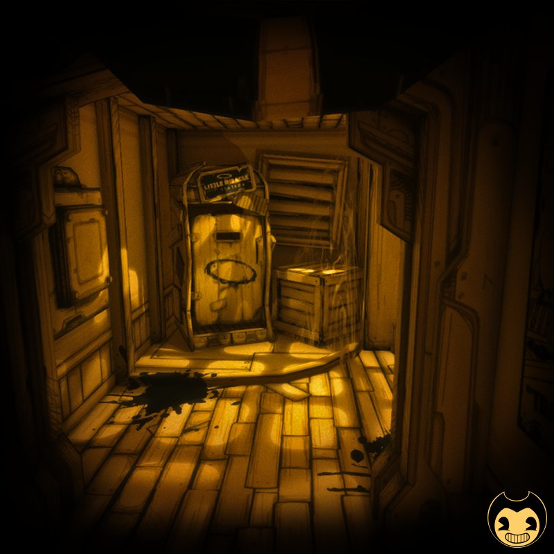 Bendy Ink Machine And Papercraft