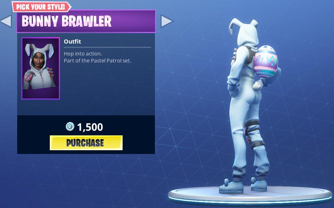 Fortnite Bunny Brawler Skin