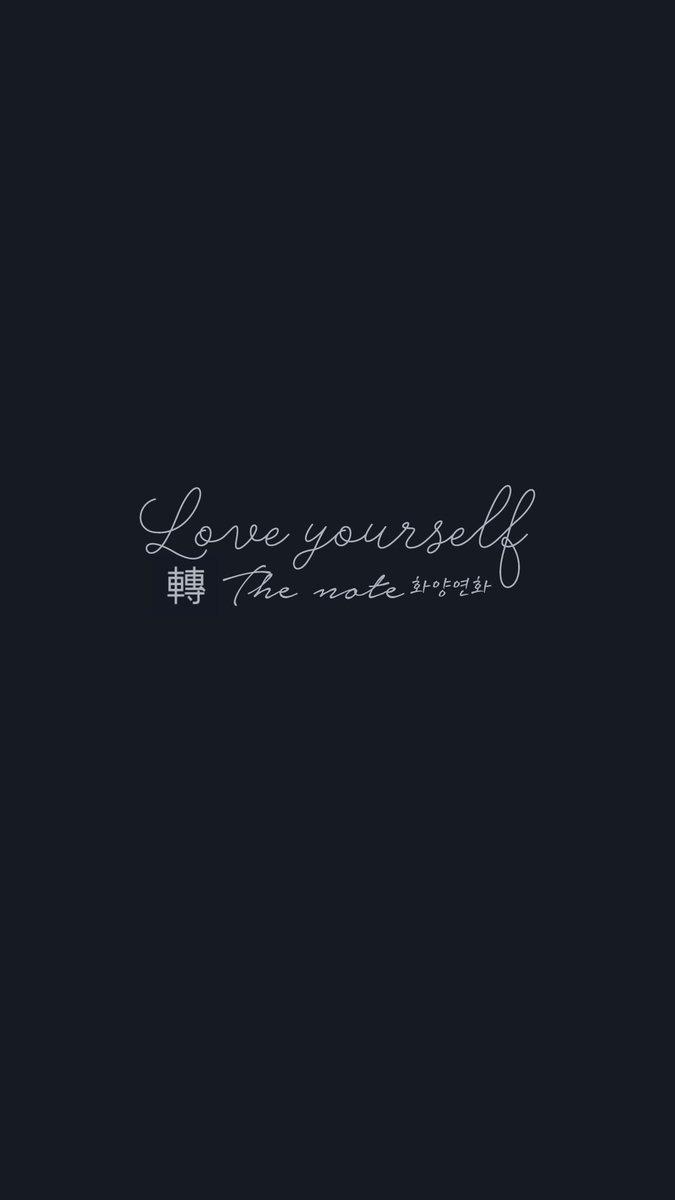 Yourself Wallpaper Hd Love Tear Bts Group Desktop