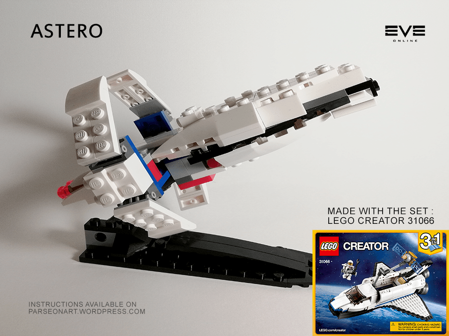 C Parseon on Twitter   Instructions for the LEGO ASTERO are     Instructions for the LEGO ASTERO are available  have fun  tweetfleet   EVEonline  LEGO  LEGOIdea2018  https   parseonart wordpress com 2018 04 10 astero lego