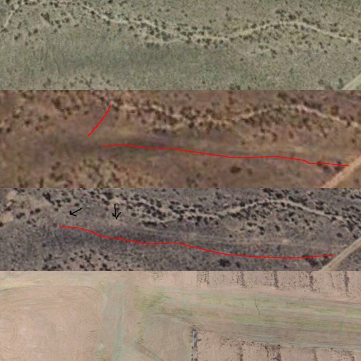 West Mesa Serial Killer Satellite Image Fasraurora