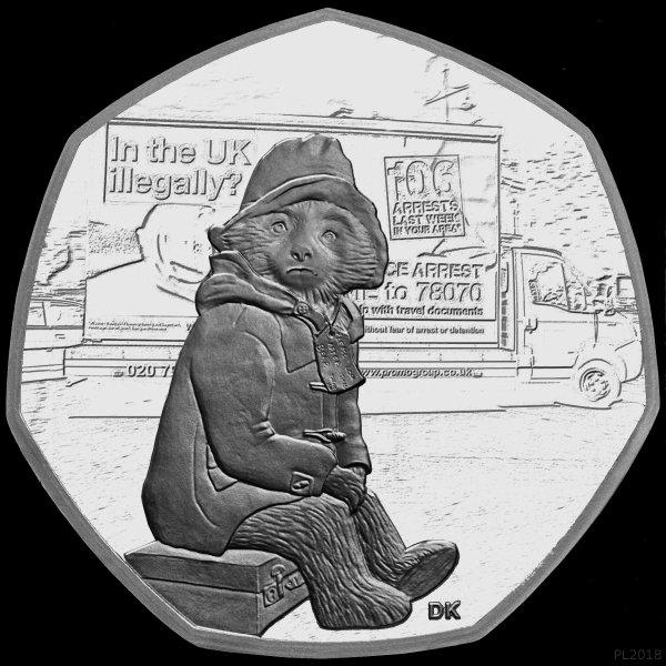 paddington bear 50p coins # 74