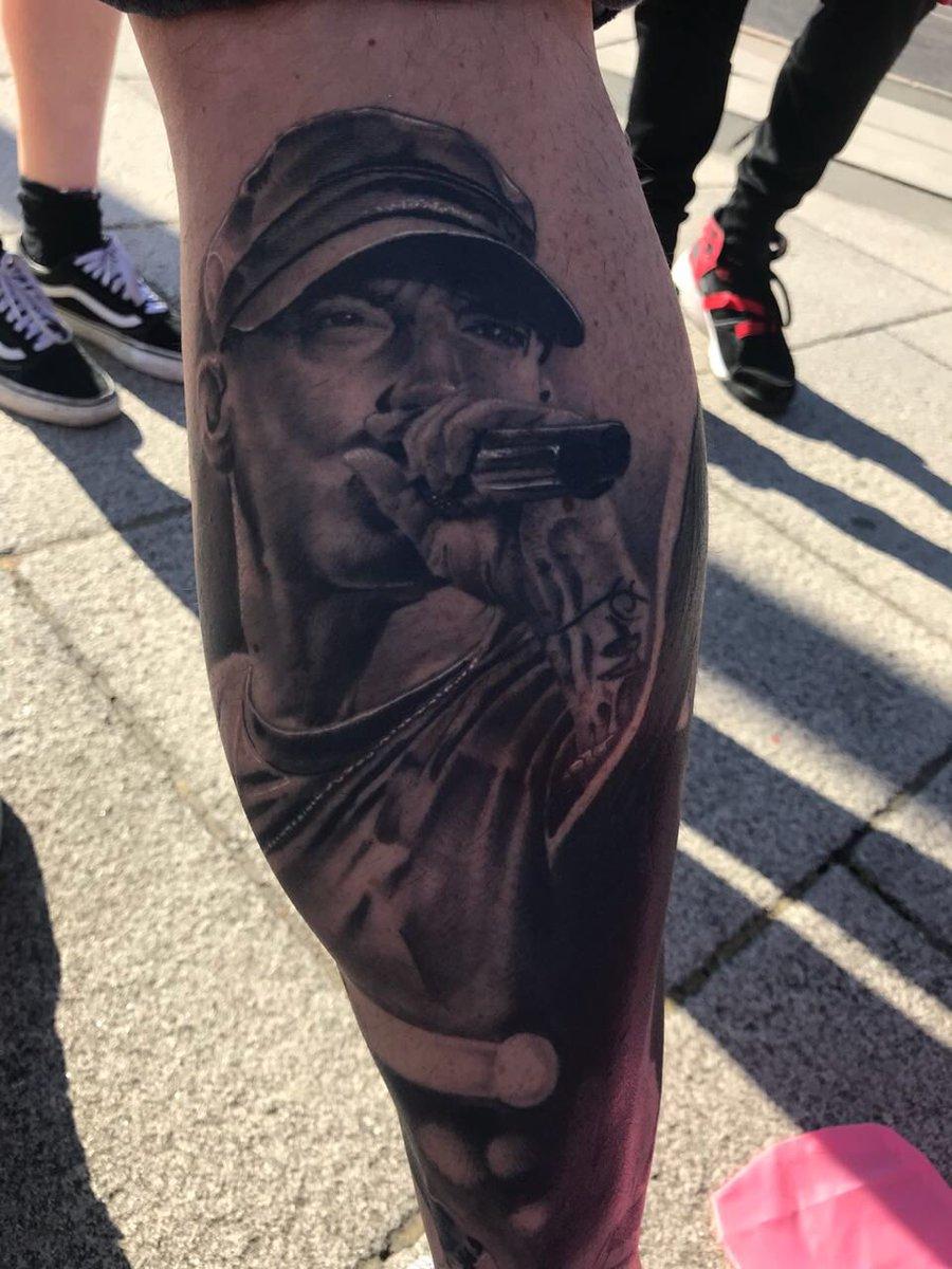 Eminems Forearm Tattoos
