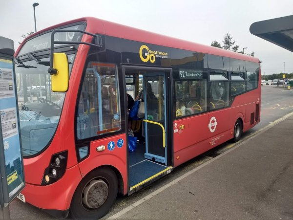 ikea pictures london bus # 48