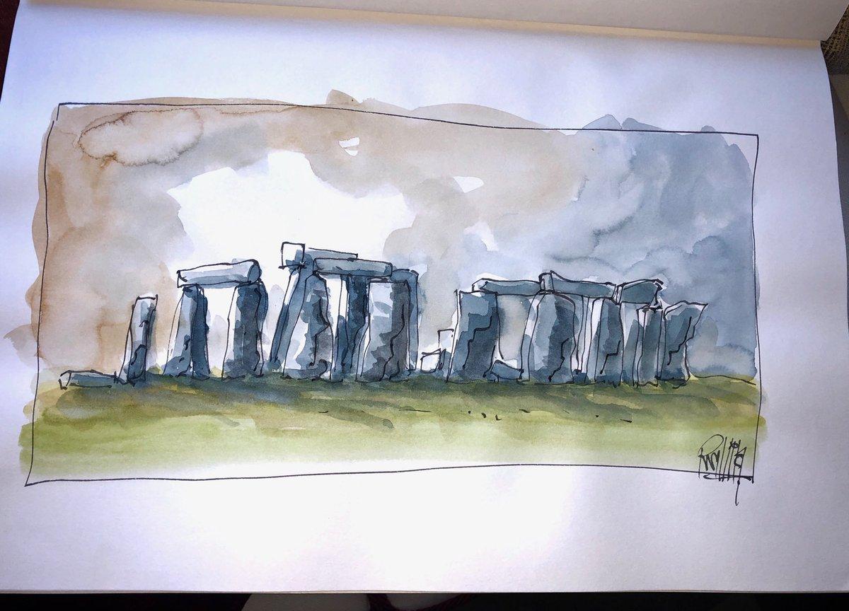 stonehenge sketchbook - HD1200×864