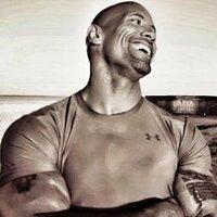 Dwayne Johnson (@TheRock )