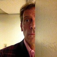 Hugh Laurie (@hughlaurie )
