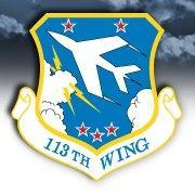 113th Wing (@dcang113th) Twitter profile photo