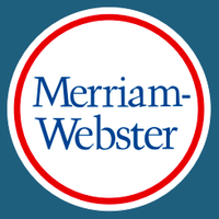 Merriam-Webster (@MerriamWebster )