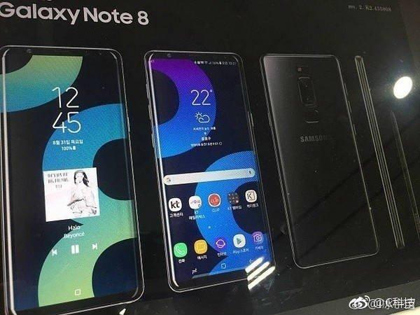 Samsung Galaxy Note 8 Details