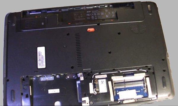 6-ноутбук - қатты диск, - жедел жад және батарея
