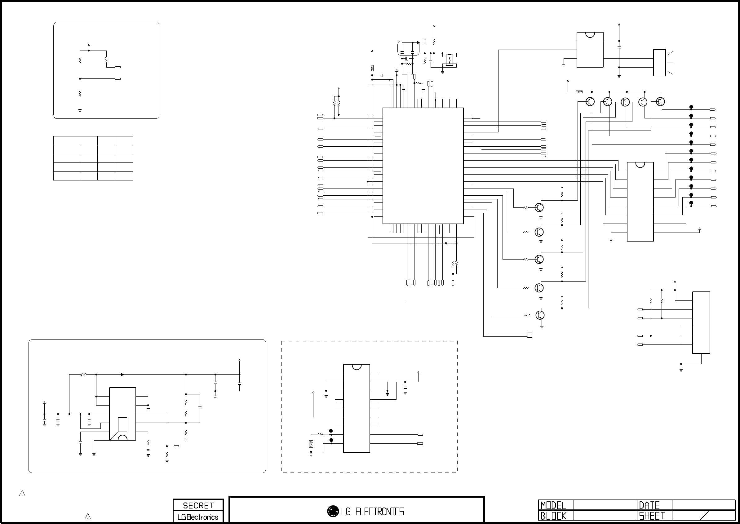 The symbol mark of this schemetic diagram incorporates