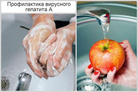 Hygienian sääntöjen noudattaminen välttää infektion hepatiitti a
