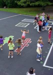 School Bell  Time to Play Recess Games