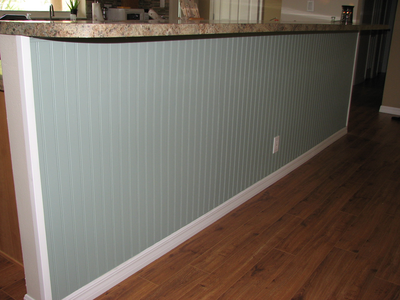 Best Kitchen Gallery: Beach House Wainscoting Bead Board In Cocoa Beach Florida of Beadboard Paneling In Kitchen on rachelxblog.com