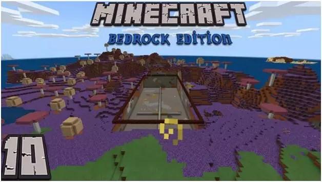 Точка дома в Minecraft Bedrock Edition