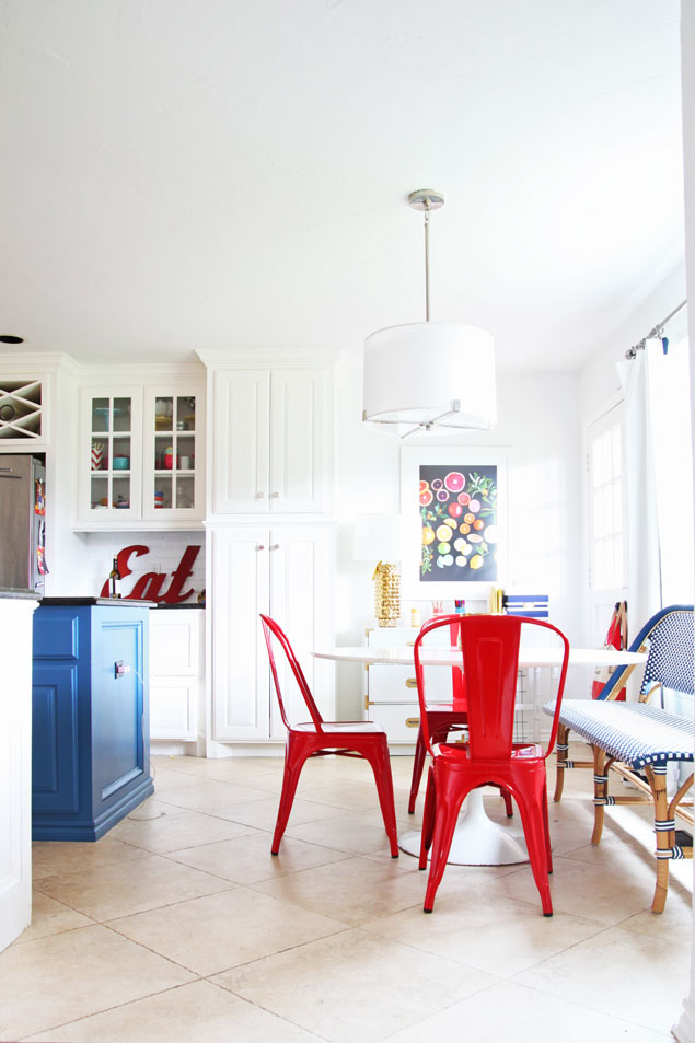 White Kitchen Table 4 Chairs