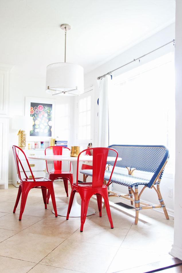 Breakfast Nook Update W Serena Amp Lily Riviera Benchpencil