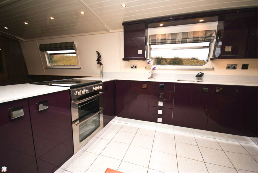 Wide Galley Kitchen Layout