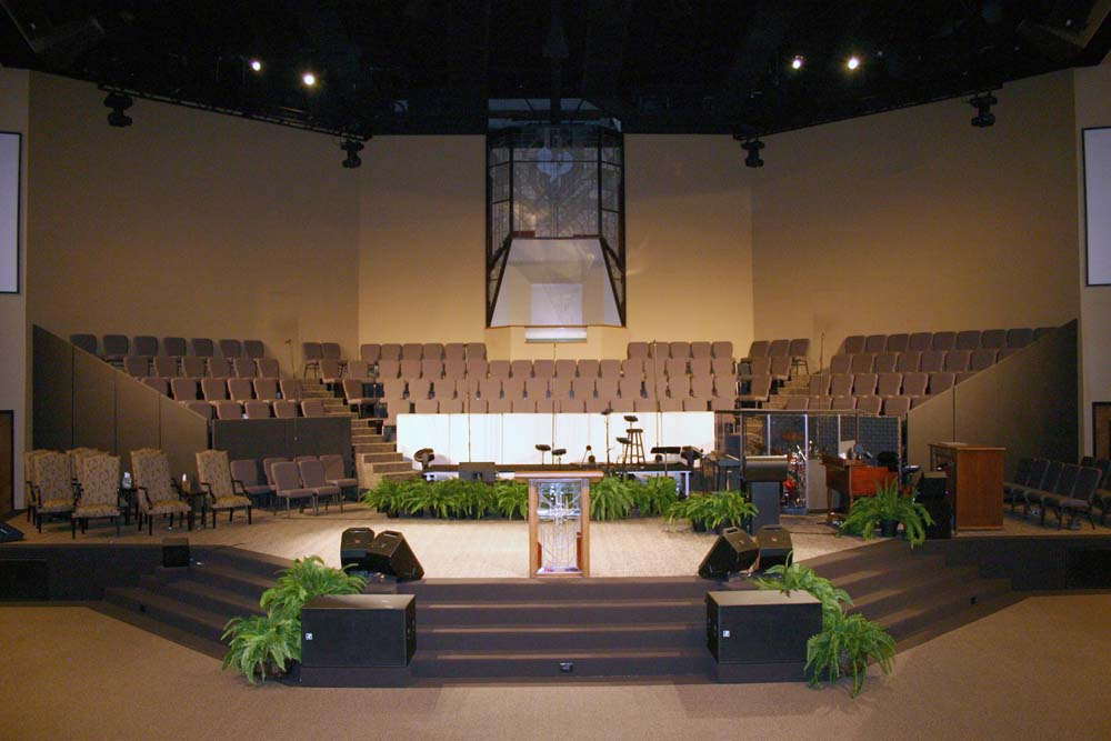 Staging Amp Risers For Churches And Worship Facilities