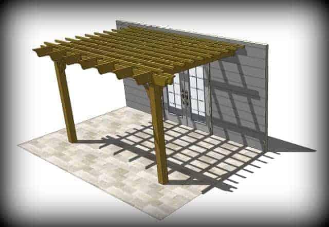 The Sombrero Pergola Kit Pergola Depot