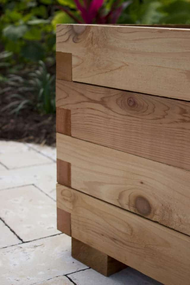 Planter Box Buy A Cedar Planter Box Kit Online At