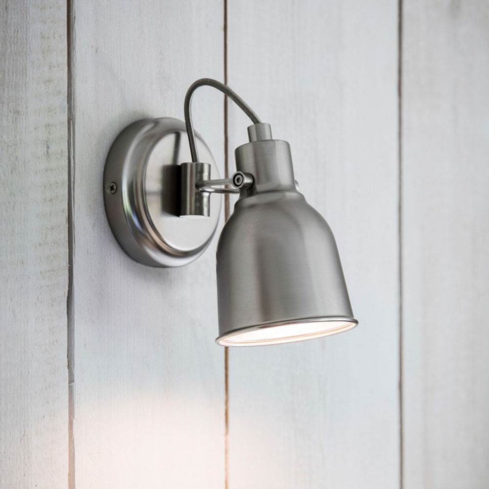 Satin Nickel Picture Light