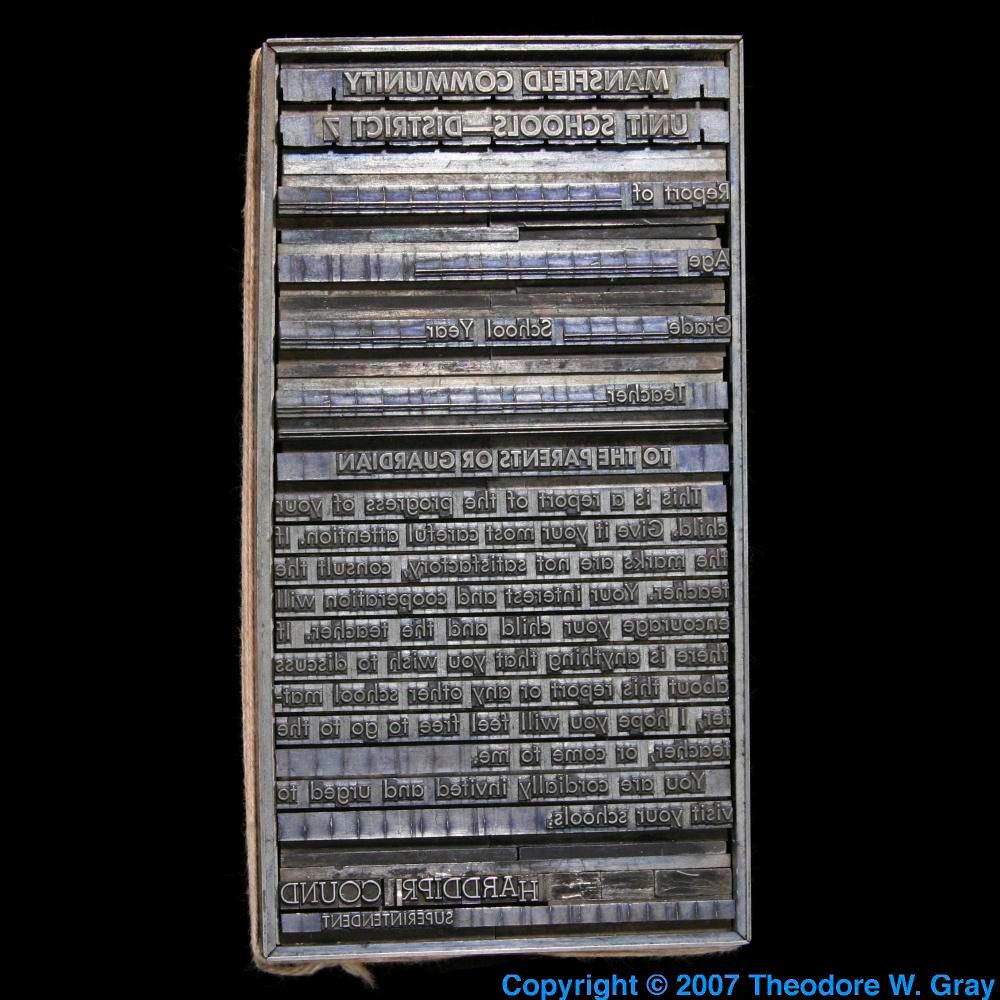 Lead Element Periodic Table