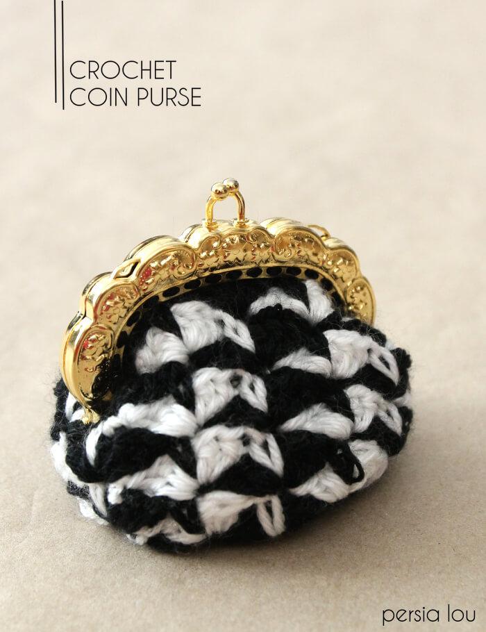 Crochet Coin Purse - free pattern