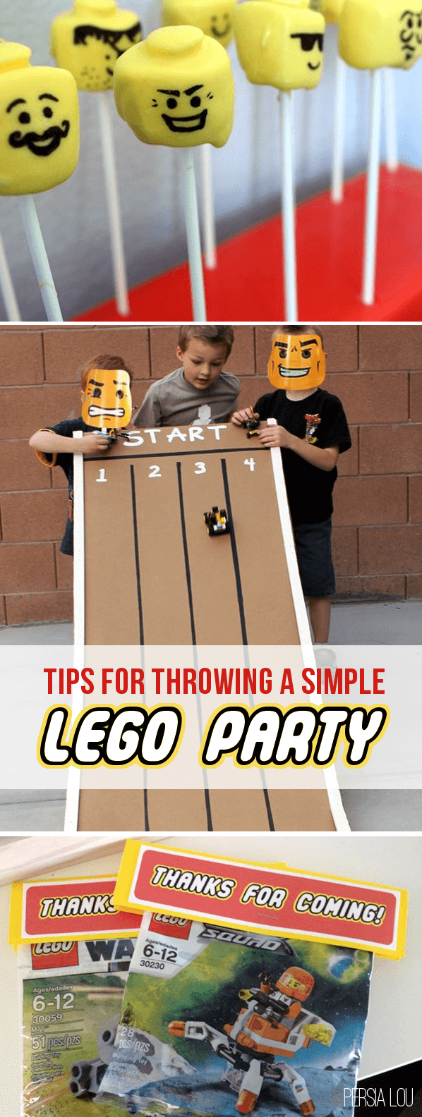 Tips for a fun, simple Lego party