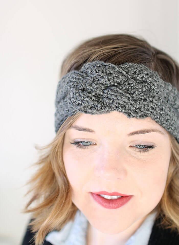 Sailor Knot Crochet Headband - Free Pattern
