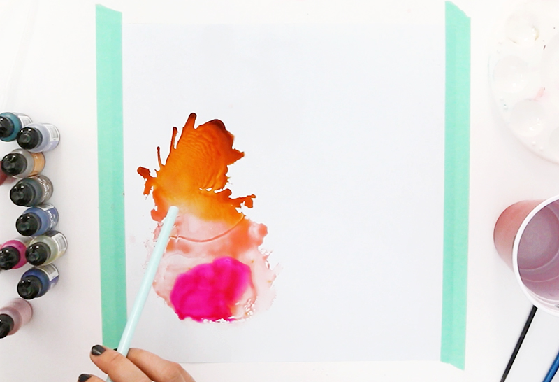 diy alcohol ink vinyl decals - such a fun project!