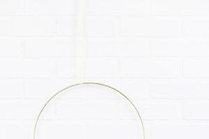 DIY Modern Fall Wreath – Quick and Easy Fall Hoop Wreath