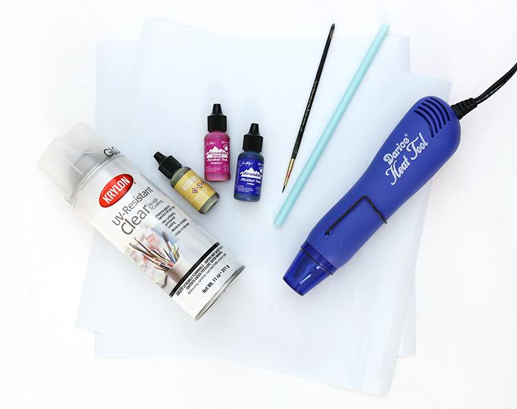 diy alcohol ink supplies